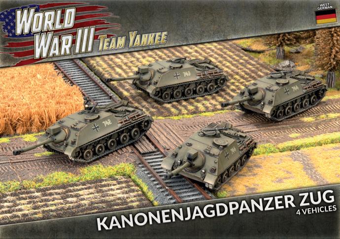 Kanonenjagdpanzer Zug (Plastic) (TGBX16)