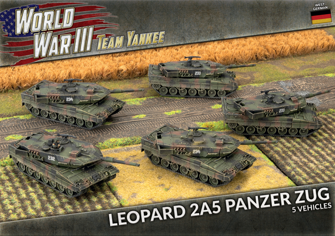 Leopard 2A5 Panzer Zug (Plastic) (TGBX18)