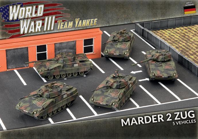 Marder 2 Panzer Zug (Plastic) (TGBX19)