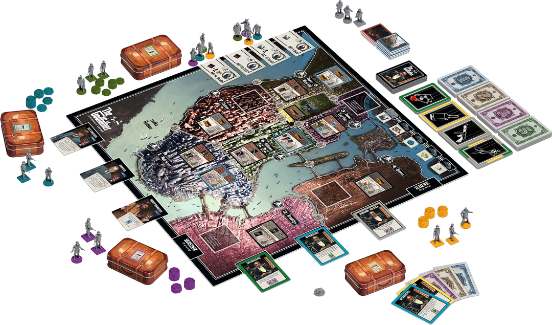 The Godfather: Corleone's Empire review - Tabletop Gaming