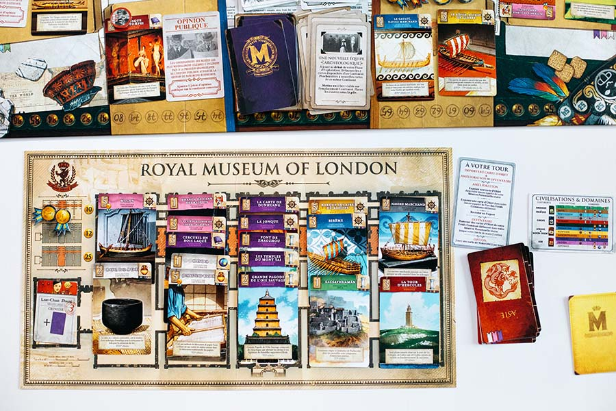 Holy grail games, Museum Pictura game, Museum Pictura board game, holy grail games board game, board game