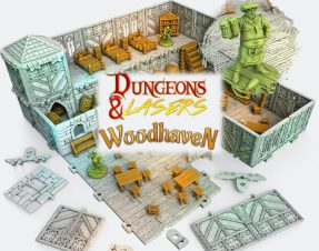 Dungeons & Lasers Third Edition