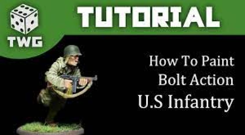 Bolt Action: US Infantry Paint Tutorial