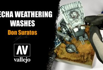 MECHA WEATHERING WASHES with Don Suratos