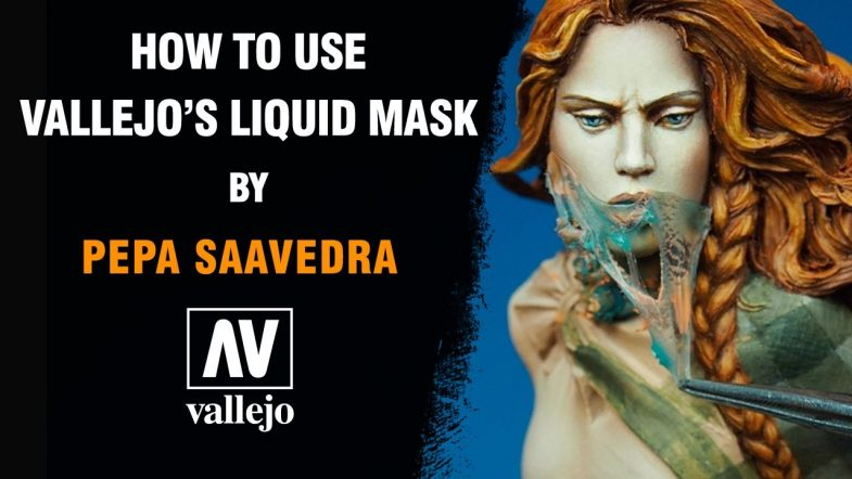 How to use Vallejo Liquid Mask