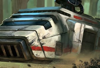 An Armored Advance